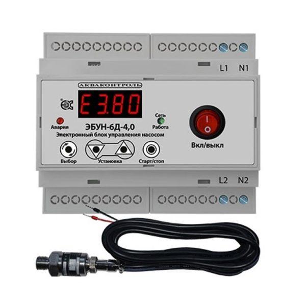 Электронный блок управления насосом ЭБУН-6Д-4,0-8