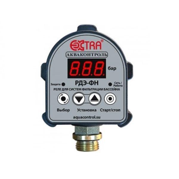 Реле управления насосом для систем фильтрации бассейнов РДЭ-3ФН-1,5 G1/2″