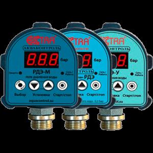Реле давления электронное для систем водоснабжения РДЭ-1,5 кВт